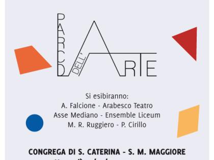 Concerto per il Parco dell'Arte – Venerdì 30 gennaio 2015 – Ore 19.30